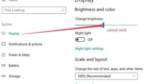 How to Fix Brightness Not Working in Windows 10